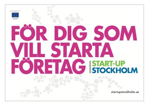 Nu ska fler stockholmare bli företagare: Start för inspirationsturné