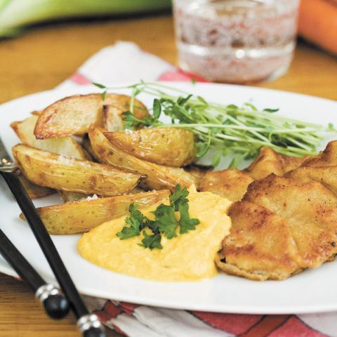 Recept med kalkonschnitzel godast i Linas Orginalkasse 2011