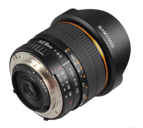 Samyang AE 8mm Nikon 5