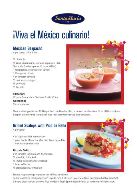 Recept mexikansk fredagsmeny