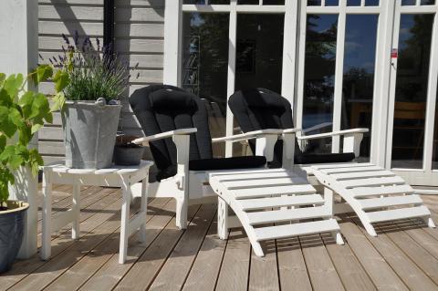 Dynor till Adirondack-stol