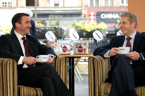 Tassimo takes Costa Coffee in Home