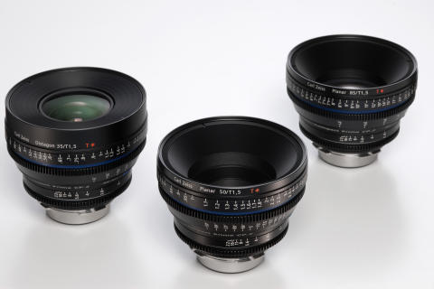 Lyssterkt for filmere fra Carl Zeiss