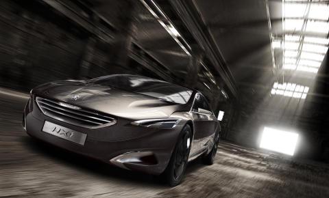 """Peugeot HX1 kåret som """"Årets smukkeste konceptbil"""""""