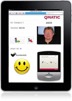 Qmatic Orchestra R3 premiärvisas på Butiksleverantör 2011