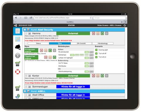 Svenska Abell Security ger Smart Trygghet i hemmet en helt ny innebörd när de lanserar ett riktigt Smarta Hem-larm.