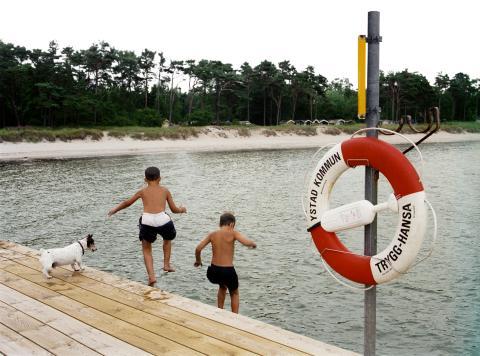 Var femte svensk har räddat ett barn ur vattnet