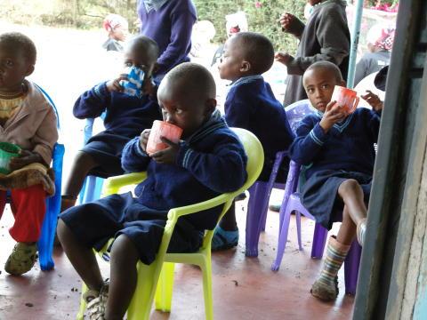 Sweden Hotels stödjer föräldralösa barn i Nairobi