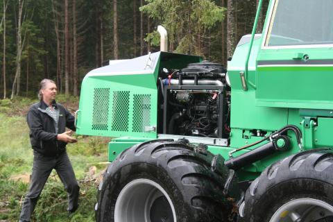 T-bear har världspremiär på SkogsElmia