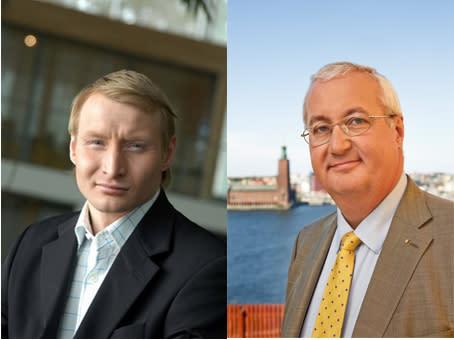 Sten Nordin/Pehr Granfalk (M) gratulerar Malmö som officiell värdstad för ESC2013