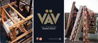 Design, form och tradition i ny vävutställning på Nordiska museet - pressinbjudan