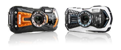 Nye vandtætte kameraer fra Pentax