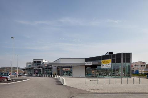 Köpcentrum utanför göteborg