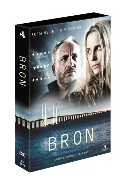 Bron I  Broen, på dvd & bluray 25 januari
