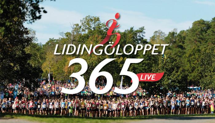Lidingöloppet 365LIVE sänder Lidingöloppet 30km den 26 september