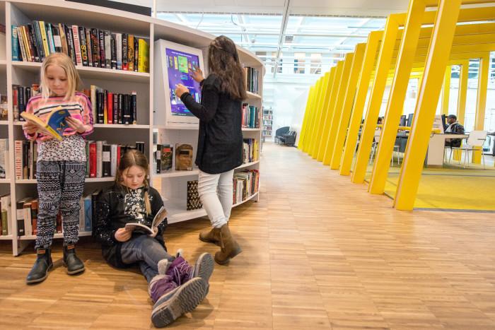 Kista bibliotek kan bli världens bästa folkbibliotek