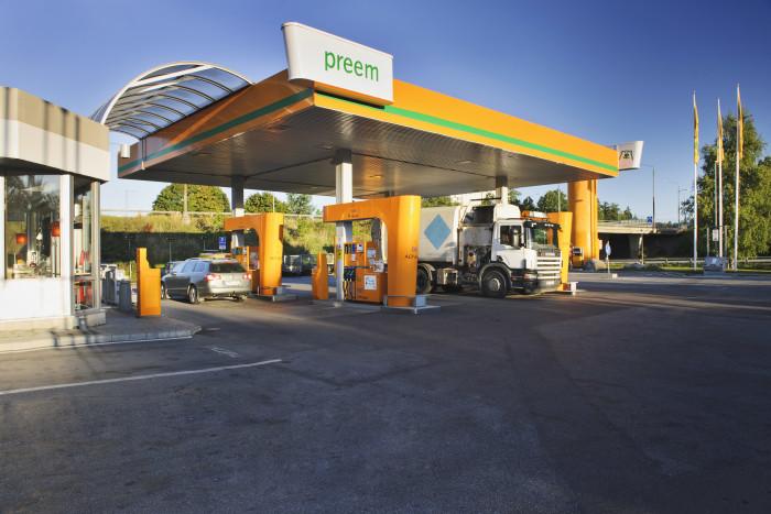 Preem och Ragn-Sells tar fram diesel av förbrukat matfett