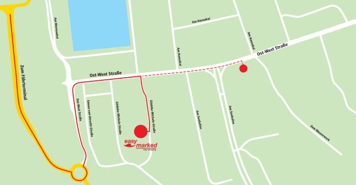 Scandlines åbner Easymarked i Rostock Havn 2
