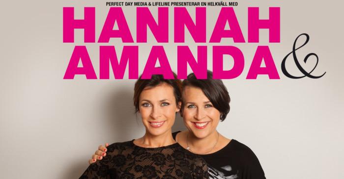 hannah & amanda, perfect day, fredagspodden