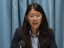 Joanne Lius tal om sjukhusbombningen och vikten av en oberoende utredning
