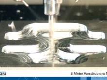 1-skärigt fräsverktyg med en spånkapacitet på mer än 40 cm³/min i aluminium
