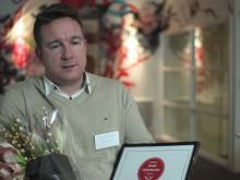 Fredrik Rigö från Swecon om varför de vann Årets Nyhetsrum 2014