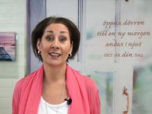 Carolina Gårdheim berättar om e-kursen Gör din grej
