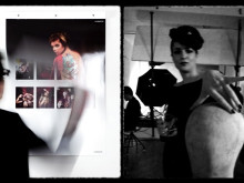 Behind the scenes look at making of the stunning Invercote calendar