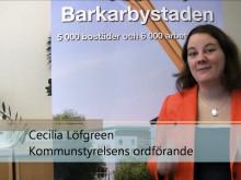 Cecilia Löfgreen om 450 nya hyresrätter i Barkarbystaden