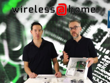 Wireless@Home -del1 GSM-larm