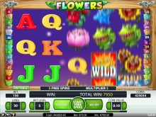 Flowers slot på Vera&John Casino