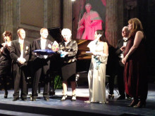 Jenny Ljungberg tar emot kulturpris