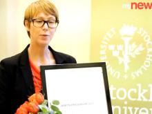 Stockholms universitet – Årets Nyhetsrum 2011