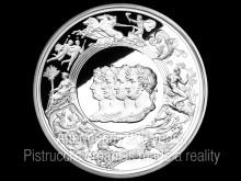 Benedetto Pistruccis Waterloo-medalj