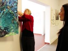 Konstelever från Östra Grevie folkhögskola ställer ut på Falsterbo konsthall