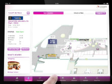 iChangi HD app for the iPad