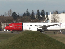 Norwegian's 787 Dreamliner Delivery November 2013