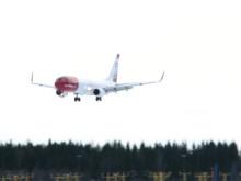 Landing LN-NOP at OSL