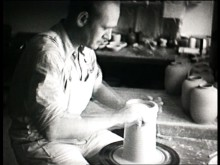 En liten film om drejning på Gustavsbergs Porslinsfabrik