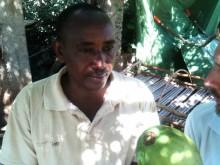 Lantbrukaren Daniel berättar om hur han påverkas av Linas Matkasses vattenprojekt
