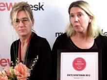 Årets Nyhetsrum vinnarintervjuer och mingel