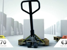BT palleløfter - billigst i længden