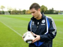 Chelsea's Lampard about the new offical match ball