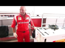 Fernando Alonso i Shell V-Power duel