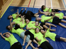 GympaKidz  är  äventyr, utmaning och glädje i gymnastikföreningar över hela landet
