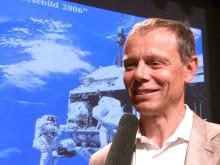 Christer Fuglesang besökte Röntgenveckan på Sahlgrenska Universitetssjukhuset