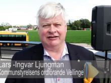 Invigning av E6:an mellan Vellinge och Trelleborg