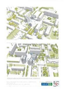 MKB Fastighets AB vill bygga 60-80 lägenheter i Holma