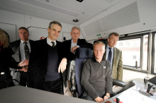 Ministrar tar Malmbanan till Barentsmötet