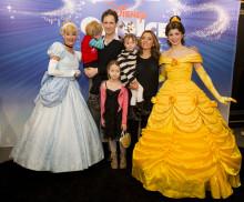 Premiärmingel när Disney On Ice turnéstartade i Globen